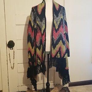 Hot & Delicious Cape Poncho Jacket